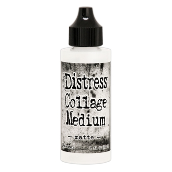 RESERVE Tim Holtz Distress Collage Medium MATTE 2OZ tda73031