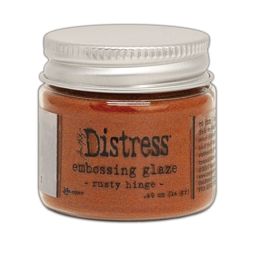 Tim Holtz Distress Embossing Glaze RUSTY HINGE Ranger tde71013 Preview Image