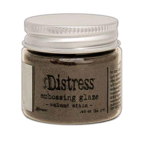 Tim Holtz Distress Embossing Glaze WALNUT STAIN Ranger tde71044 Preview Image