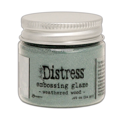 Tim Holtz Distress Embossing Glaze WEATHERED WOOD Ranger tde71051 Preview Image