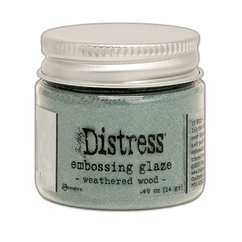 Tim Holtz Distress Embossing Glaze WEATHERED WOOD Ranger tde71051