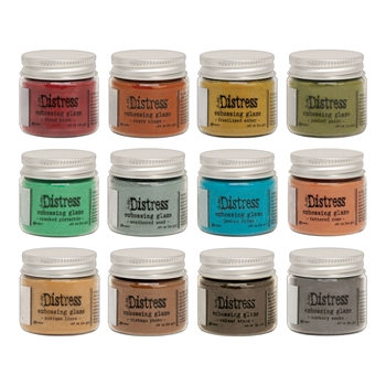 Tim Holtz Distress Embossing Glaze SET OF 12 Ranger ranger127
