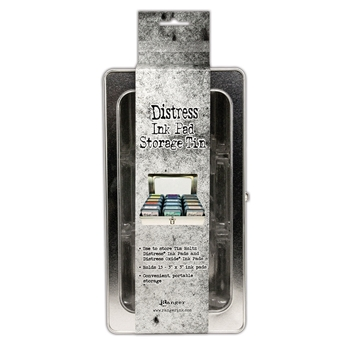 Tim Holtz DISTRESS INK PAD STORAGE TIN Ranger tda68075