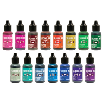 Tim Holtz ALCOHOL INK SET OF 15 Ranger ranger129
