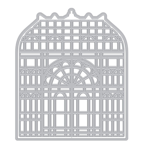 Hero Arts Fancy Dies VICTORIAN GREENHOUSE WITH FRAME DI715 Preview Image