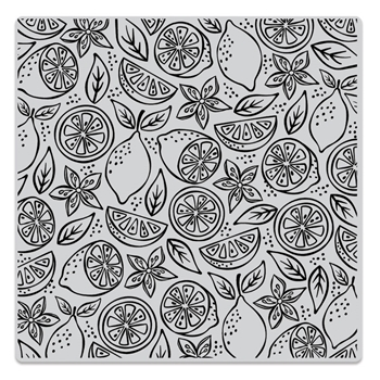 Hero Arts Cling Stamp FRESH CITRUS BOLD PRINTS CG800
