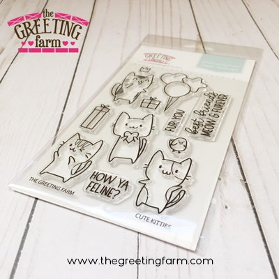 The Greeting Farm CUTE KITTIES Clear Stamps TGF520 zoom image