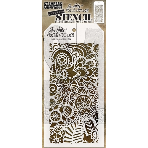 Tim Holtz Layering Stencil DOODLE ART 2 THS142 Preview Image