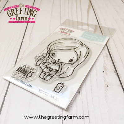The Greeting Farm BUBBLES ANYA Clear Stamps TGF526 Preview Image