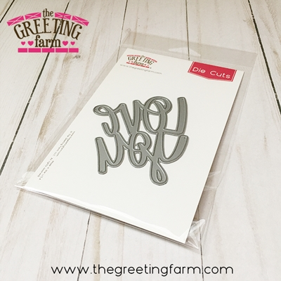 The Greeting Farm LOVE YOU Die Cuts TGF532 Preview Image
