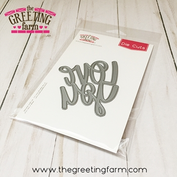 The Greeting Farm LOVE YOU Die Cuts TGF532