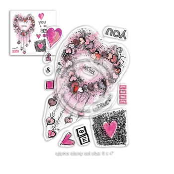 Polkadoodles YOU AND ME Clear Stamps pd8020