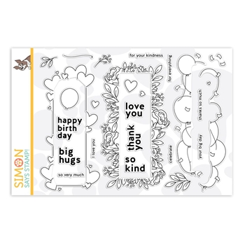 Simon Says Clear Stamps WINDOW FRAMES SSS202101