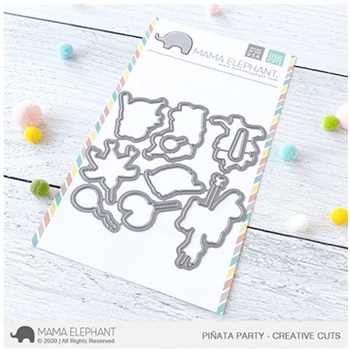 Mama Elephant PINATA PARTY Creative Cuts Steel Dies