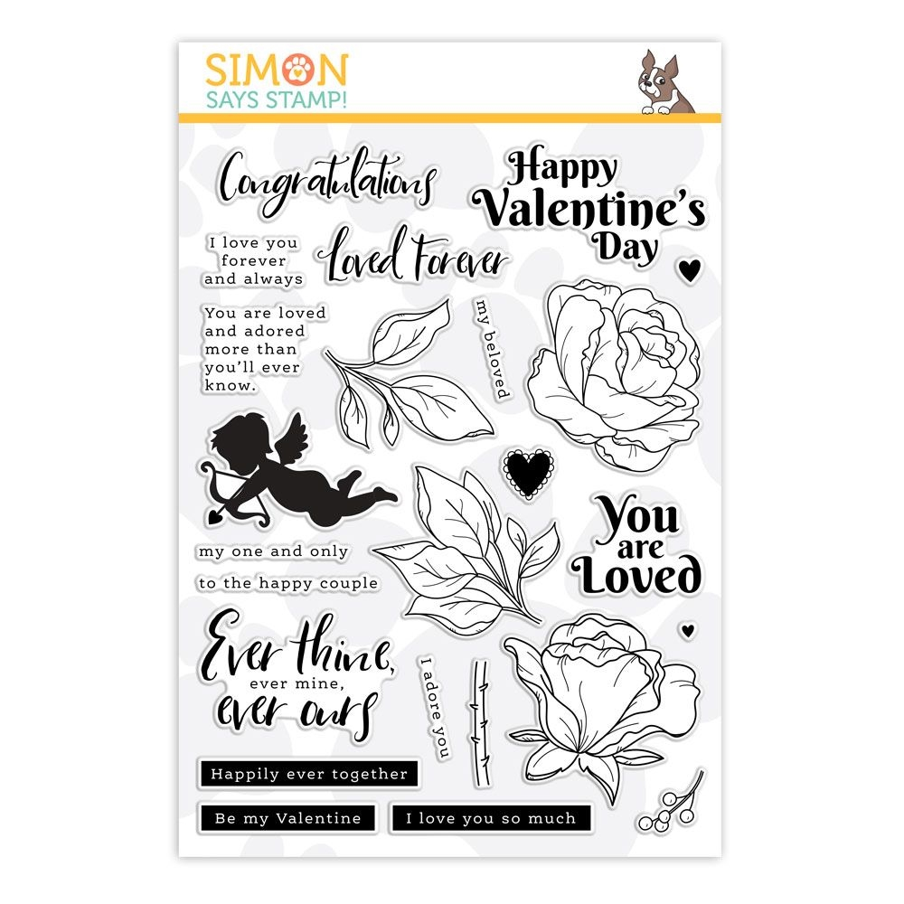 Simon Says Clear Stamps BE MY VALENTINE SSS202111 zoom image