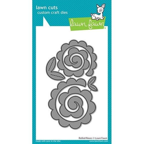 Lawn Fawn ROLLED ROSES Die Cuts lf2259 Preview Image
