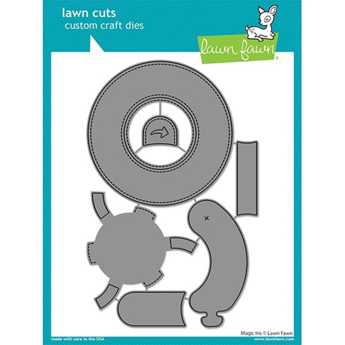 Lawn Fawn MAGIC IRIS Die Cuts lf2238 Preview Image