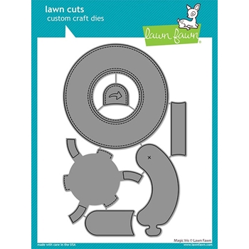 Lawn Fawn MAGIC IRIS Die Cuts lf2238