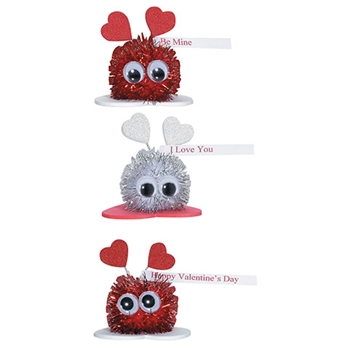Darice SPARKLE CRITTERS VALENTINE'S DAY KIT 106-1719d