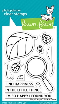 Lawn Fawn HEY LADY Clear Stamps lf2223 zoom image