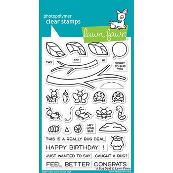 Lawn Fawn A BUG DEAL Clear Stamps lf2221