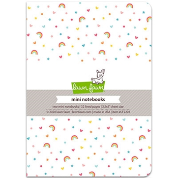 Lawn Fawn HELLO SUNSHINE REMIX Mini Notebooks lf2201