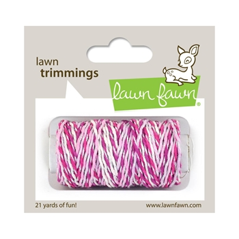 Lawn Fawn PRETTY IN PINK Sparkle Cord lf2186