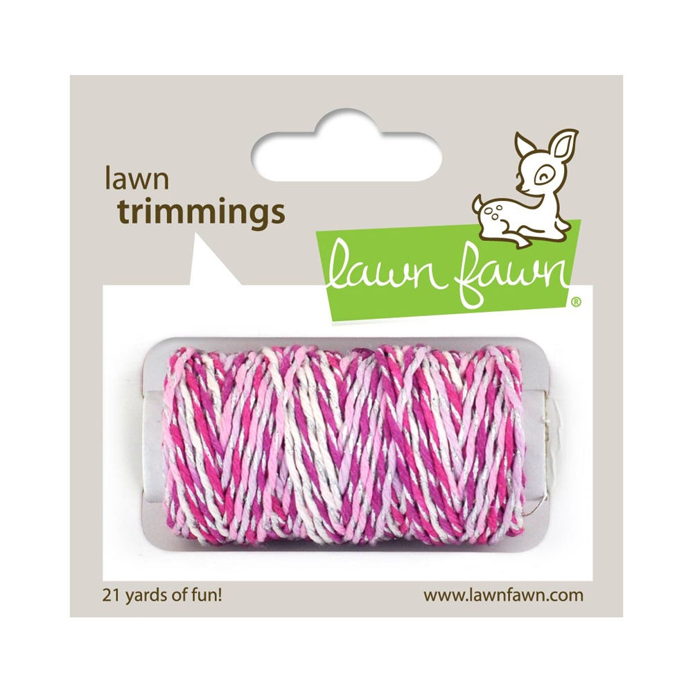 Lawn Fawn PRETTY IN PINK Sparkle Cord lf2186 zoom image