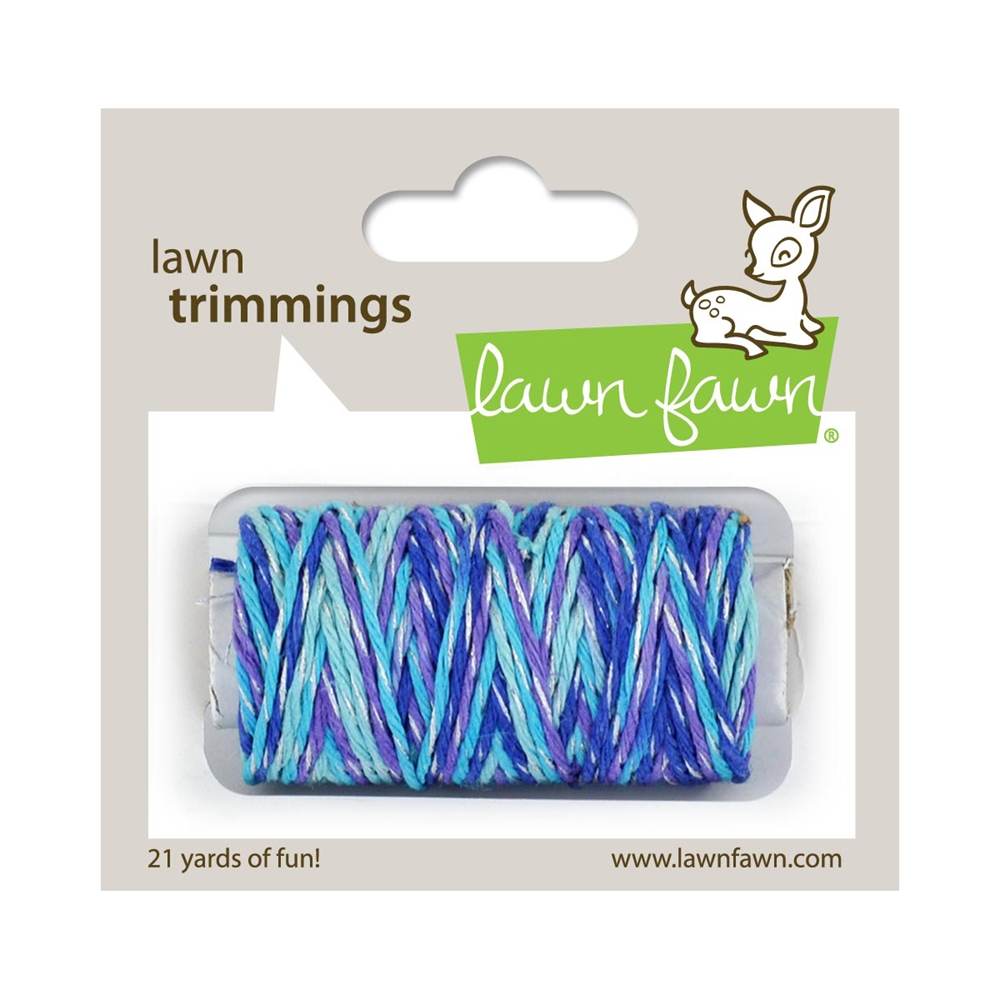 Lawn Fawn Mermaid's Lagooon Sparkle Cord