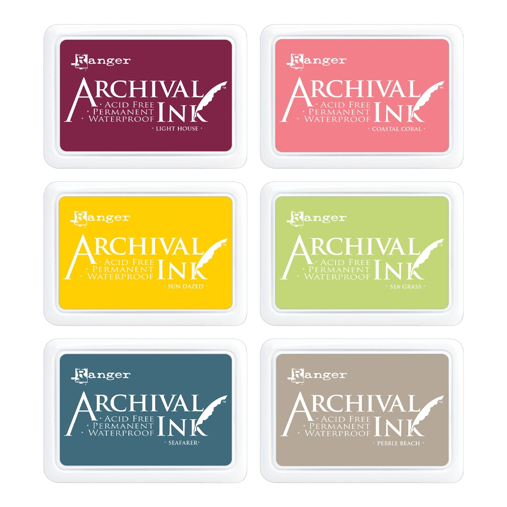 Ranger Archival INK PAD SET OF 6 ranger132 zoom image
