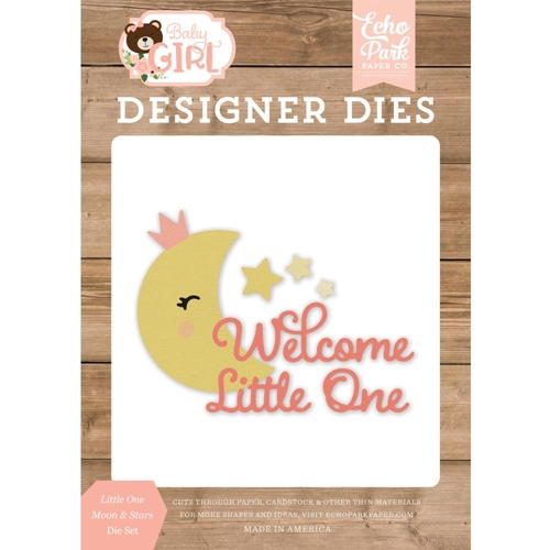 Echo Park LITTLE ONE MOON AND STARS Die Set bag202043 Preview Image