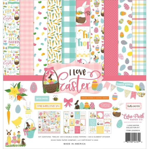 Echo Park I LOVE EASTER 12 x 12 Collection Kit lea205016 Preview Image