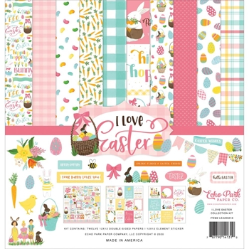 Echo Park I LOVE EASTER 12 x 12 Collection Kit lea205016