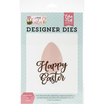 Echo Park HAPPY EASTER EGG Die Set lea205040