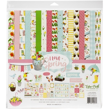 Echo Park I LOVE SPRING 12 x 12 Collection Kit lsp204016