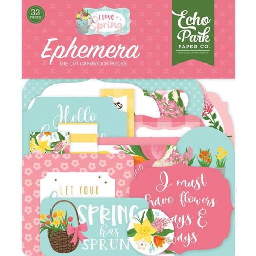 Echo Park I LOVE SPRING Ephemera lsp204024 Preview Image