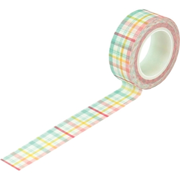Echo Park SPRINGTIME PLAID Washi Tape lsp204026