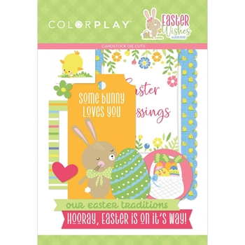 PhotoPlay EASTER WISHES Ephemera ColorPlay eaw9748