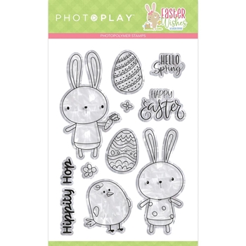PhotoPlay EASTER WISHES Clear Stamps ColorPlay eaw9749