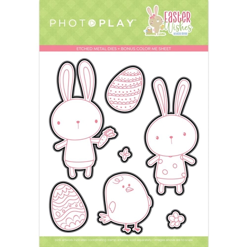 PhotoPlay EASTER WISHES Die Set ColorPlay eaw9750 Preview Image