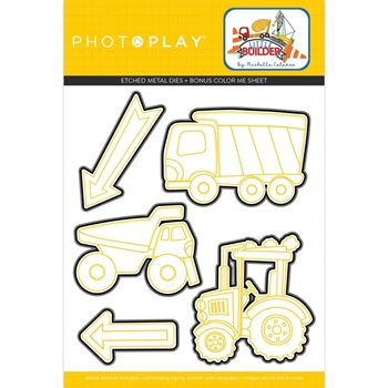 PhotoPlay LITTLE BUILDER Die Set lib9740