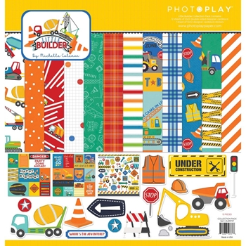 PhotoPlay LITTLE BUILDER 12 x 12 Collection Pack lib9737