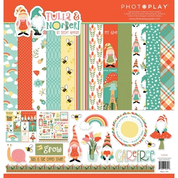 PhotoPlay TULLA AND NORBERT 12 x 12 Collection Pack tnt9725