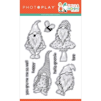 PhotoPlay TULLA AND NORBERT Clear Stamps tnt9727