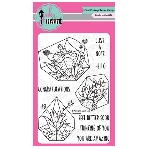 Pink and Main TERRARIUMS Clear Stamps PM0382 Preview Image