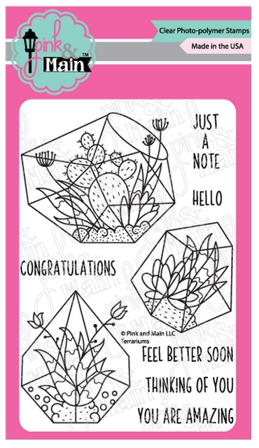 Pink and Main TERRARIUMS Clear Stamps PM0382 zoom image