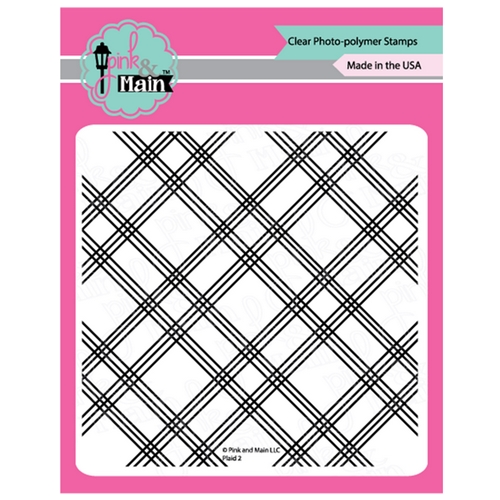 Pink and Main PLAID 2 Clear Stamps PM0378 Preview Image