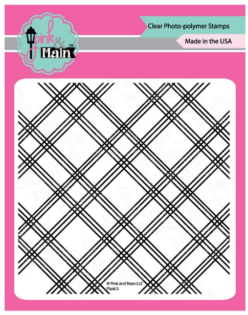 Pink and Main PLAID 2 Clear Stamps PM0378 zoom image