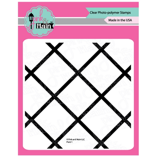 Pink and Main PLAID 1 Clear Stamps PM0377 Preview Image