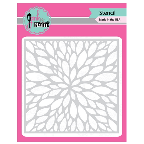 Pink and Main PETALS Stencil PMS009 Preview Image